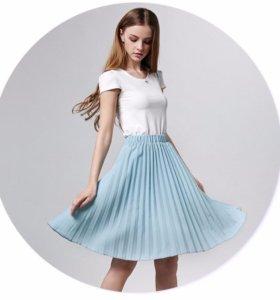 Новая юбка плиссе
