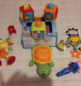 Пакет игрушек для детей с рождения