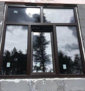 Окна и двери, балконы,сетки, стеклопакеты