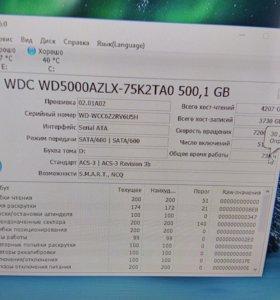 Жесткий диск WD Blue 500gb