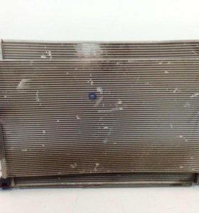 Кассета радиатор охлаждения акпп + кондиционера KIA SPORTAGE / HYNDAI TUCSON 16- б/у 97606D7500 25310D7650 3*