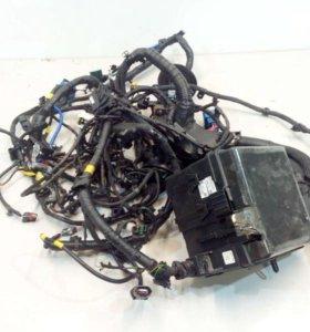 Проводка подкапотная двигателя KIA SPORTAGE 16- б/у 914D0F1200  3*