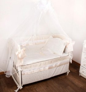 Комплект в кроватку 7 предметов