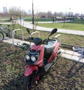 Скутер АВМ gust 50 cc