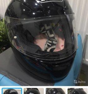 Шлем Shoei xr-1000 (черный) XL