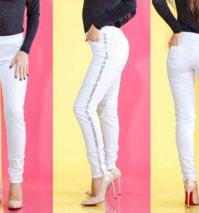 новые джинсы стретч