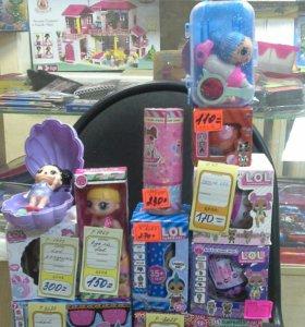 Куклы лол игрушка разнообразные