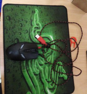 Коврик razer+мышка bloody v4