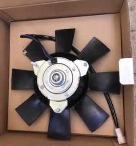 Новый радиаторный вентилятор 2107