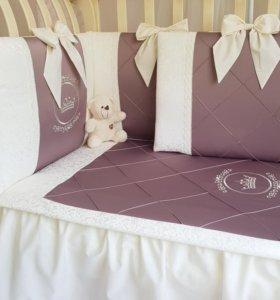 Набор в кроватку для новорожденных Franchesko