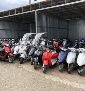 Японские скутера состояние новых