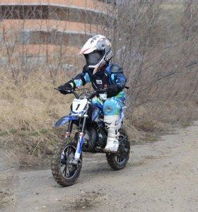 Детский мини кросс мотоцикл motax 50 cc