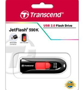 Накопитель USB 2.0 32GB Transcend TS32GJF590K
