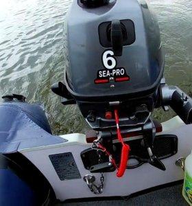 Лодочный мотор сеа про 6
