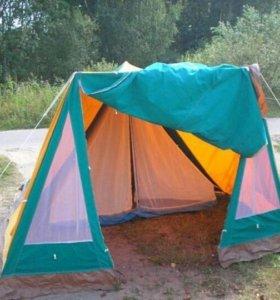 Польская 3х местная палатка Варта(из СССР)