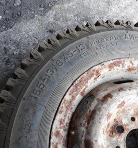 Продам шины с дисками ( снежинка)