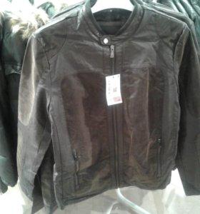 Новая куртка экокожа