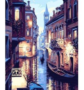 🎨Картина рисование по номерам Венеция 🛶