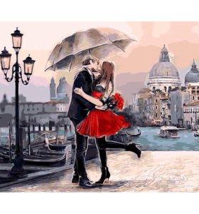 🎨Картина рисование по номерам Поцелуй 💋