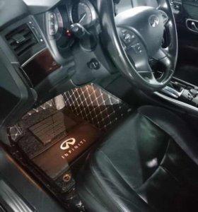 3D автоковрики премиум класса для Infiniti Q 70
