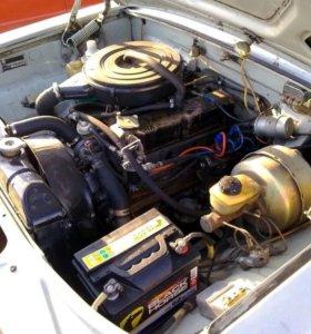 Двигатель газ 402 в сборе 100лс с проверкой