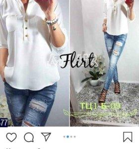 Блуза лёгкая, летняя