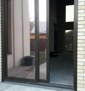 Сдвижные двери из стеклокомпозита