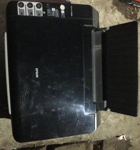 Принтер,сканер копир цветной epson stylus cx4300