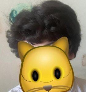 Женский парик натуральный