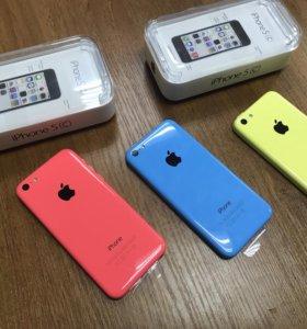 Новые iPhone 5c оригинал магазин гарантия 2 года