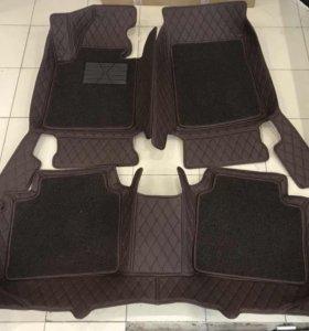 3D автоковрики премиум класса для KIA Optima