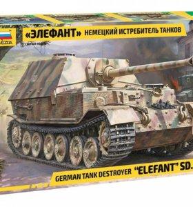 «Элефант» Немецкий истребитель танков,модель