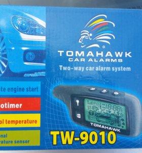 Новая Сигнализация с авто запуском ТомагавкTW-9010