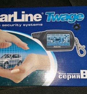 Новая сигнализация с авто запуском StarLine В9