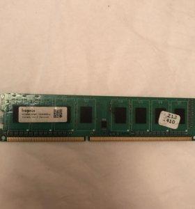 Оперативка DDR3 2Gb 1333Mhz
