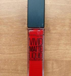 Жидкая помада от Maybelline Matte Liquid