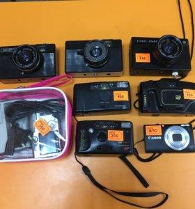 Фотоаппараты плёночные, цифровые