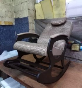 """Кресло качалка """"Люкс с подножкой"""""""