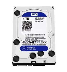 Жесткий диск Western Digital WD Blue Desktop 4 TB