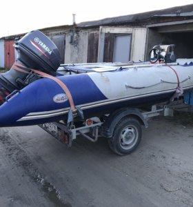 Лодка Badger HD430