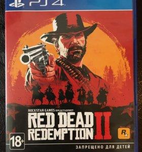 Продаю отличную игру для PS4 Red Dead Redemtion2