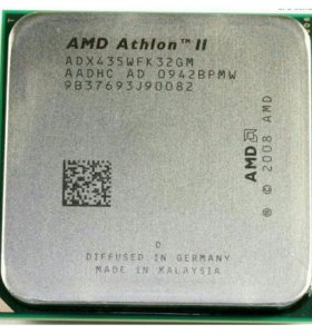 AMD Athlon II x3 435 3x2900MHz sAM3