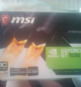 Видиокарта Nvidia GeForce GT 1030
