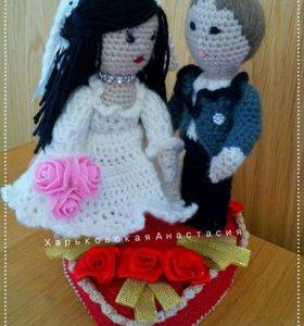 Жених и Невеста. Ручная работа.