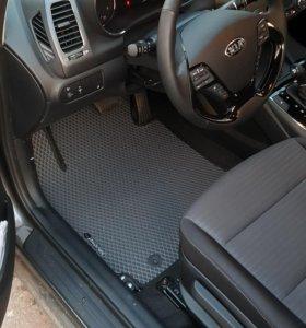 Автоковрики EVA для Kia Cerato III Рестайлинг
