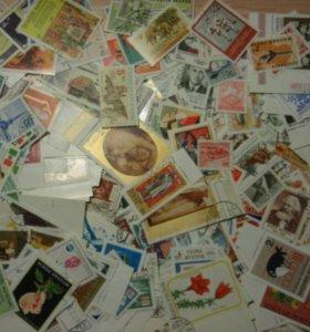 Коллекция марок, ПК с ОМ, ХМК