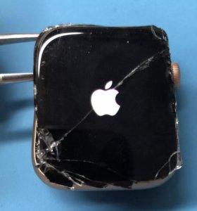 Замена стекла Apple Watch iphone iPad