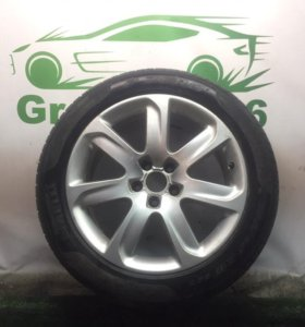 Оригинальный диск AUDI с резиной Pirelli PZero 1шт