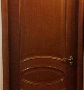 Двери из дубового шпона