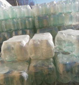 Продам стекло банки з литра связка 6 банок за 100